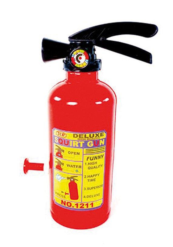 Wasserspritze Feuerlöscher
