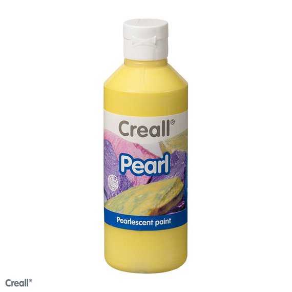Creall-Pearl 250 ml, geel
