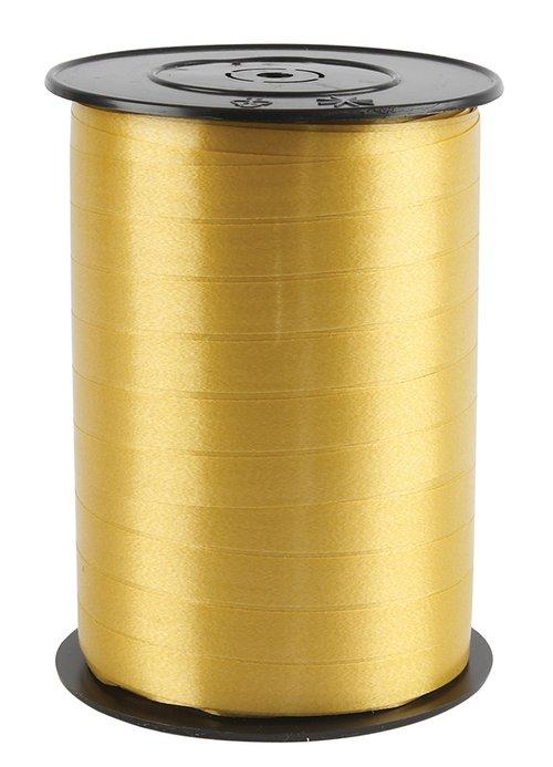 Kräuselband Gold