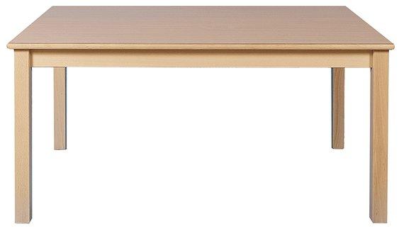 Tisch Rechteck 160x80cm. Buche hell