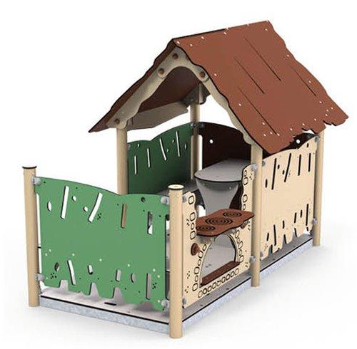 Spielhaus Kiki mit Veranda