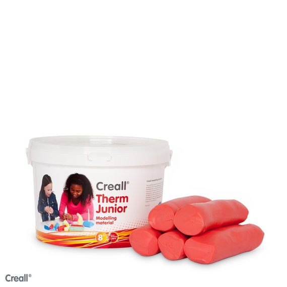 Crealltherm Knete rot 2000 Gr