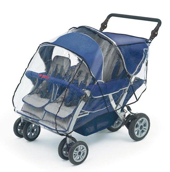 Regenschutz für Bye-Bye 4-Sitzer Kinderwagen