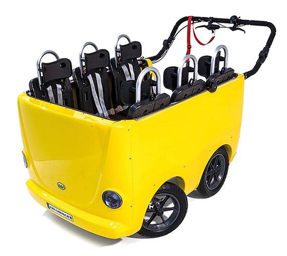 20298 Weber Kinderbus 6-Sitzer ohne Elektromotor