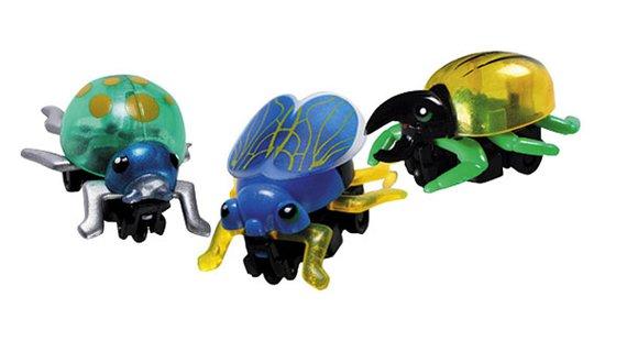 Insekten mit Rückziehmotor