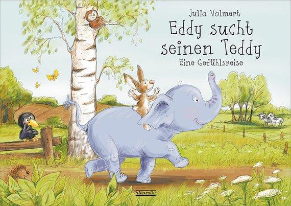 Bilderbuch Eddy sucht seinen Teddy