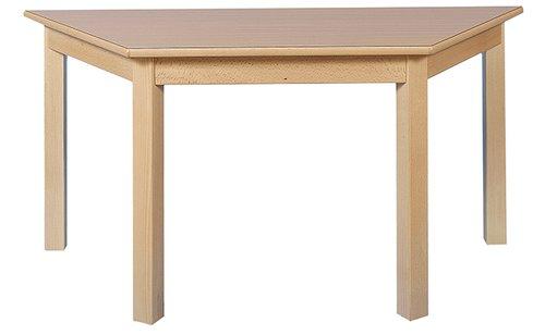 Tisch Trapez 140x70cm. Buche hell