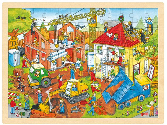 Puzzel Huisbouw