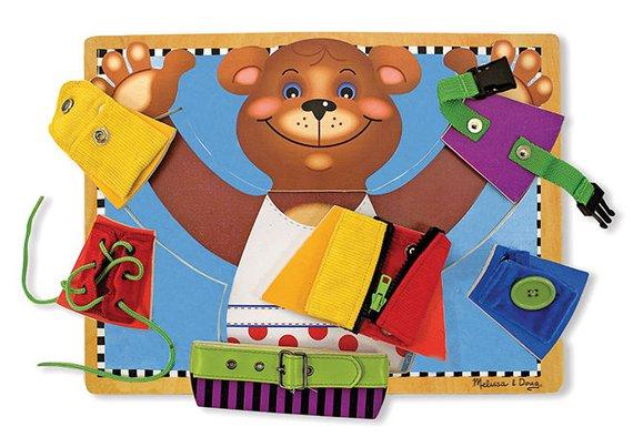 Übungspuzzle Bär