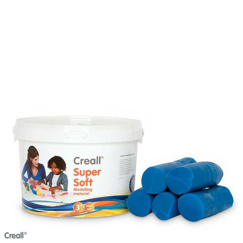 Creall Knete Supersoft blau 1750 Gramm