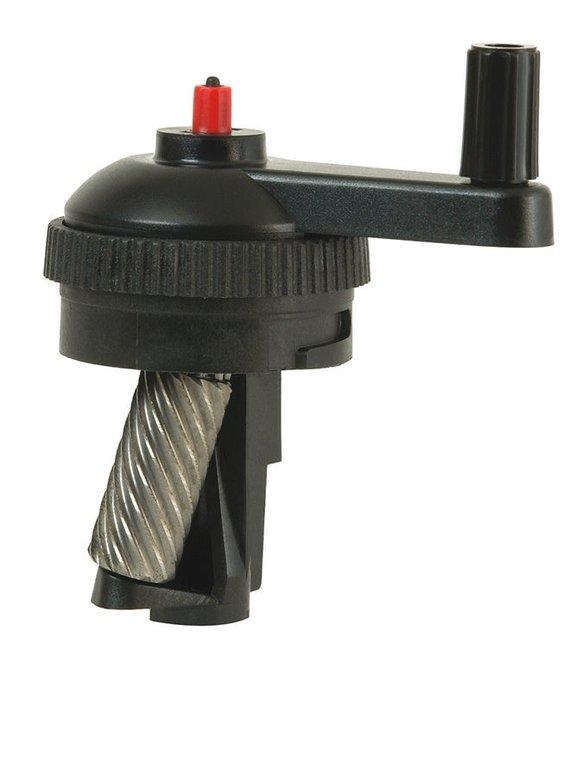 Reservemes voor slijper 2387 met metalen frame.