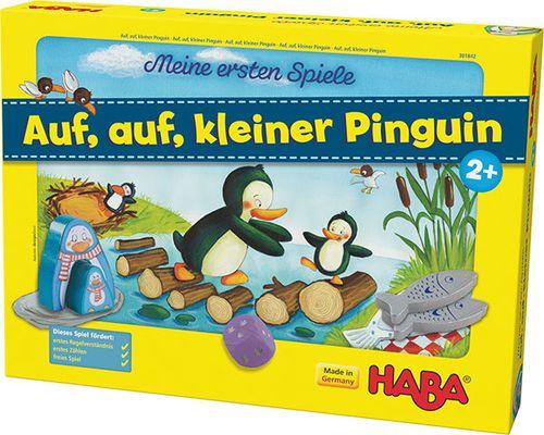 Hup klein pinguïn.
