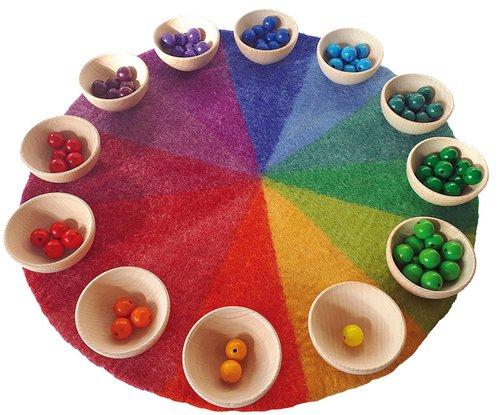Regenbogenfarbkreis komplett