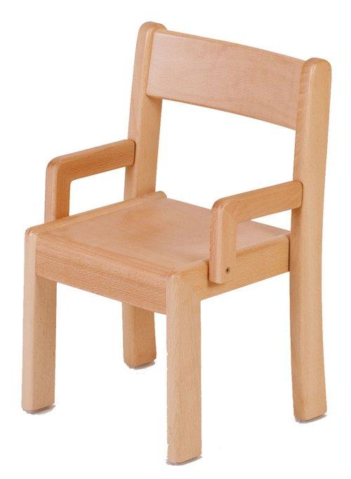 Stuhl Simeon mit Lehne