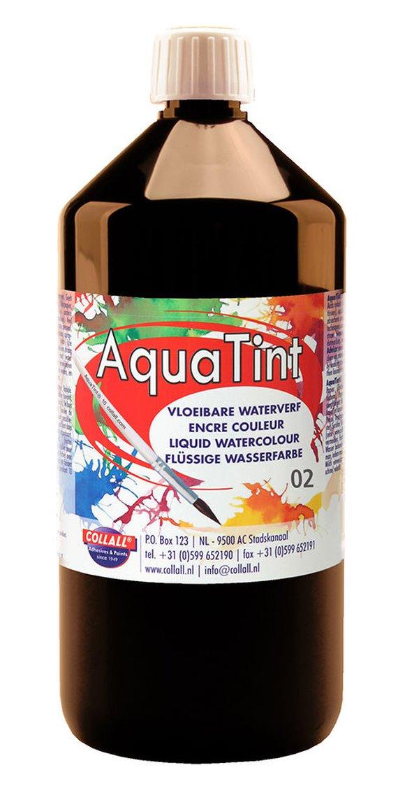 Aquatint 1000 ml zwart