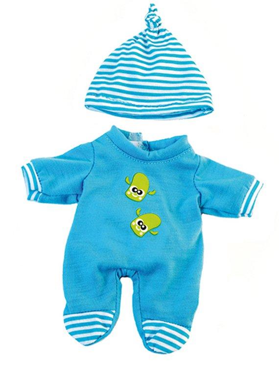 Strampler für Mini Puppe Jungen