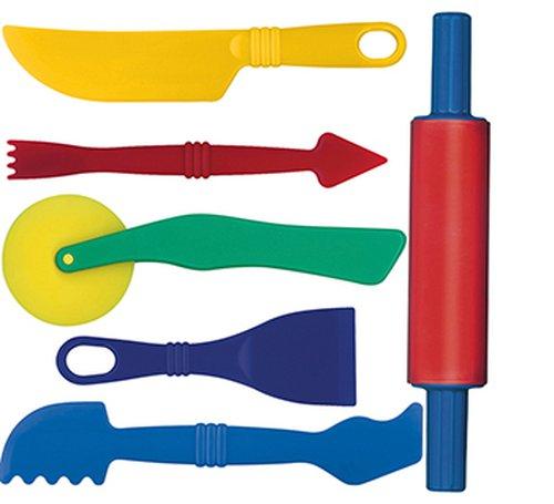 Knetwerkzeugset 6-Teilig