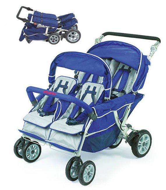 Bye-Bye Kinderwagen 4-Sitzer