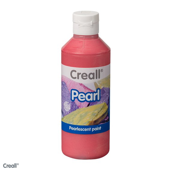 Creall-Pearl 250 ml, rood