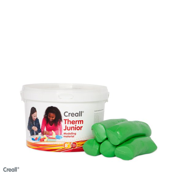 Crealltherm Knete grün 2000 Gramm