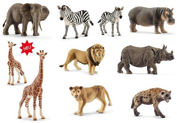 Schleich Tiere aus Afrika