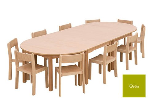 Tisch-Stuhl-Kombination Bunga