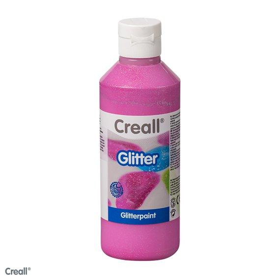 Creall-Glitter 250 ml, cyclaam