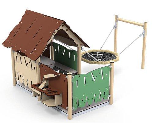 Spielhaus Lilo, der Allrounder