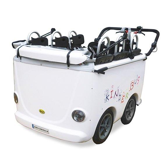 Kinderbus 4-Sitzer mit Elektromotor