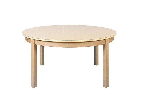 Tisch Rund 120cm. Ahorn hell