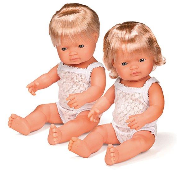 Puppen mit Haaren, Junge