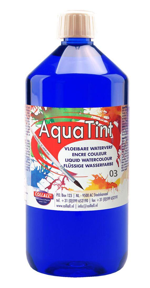 Aquatint 1000 ml d-blauw
