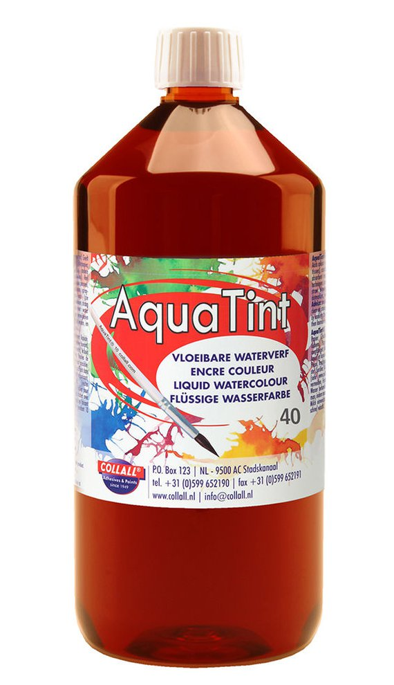 Aquatint 1000 ml bruin