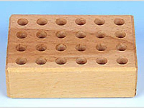 Buntstiftblock mit 24 Löcher