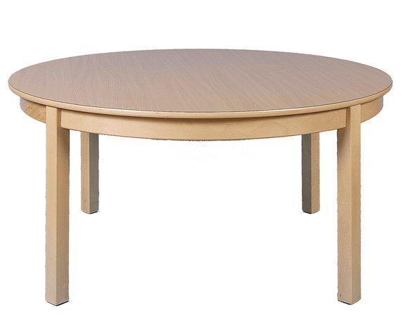 Tisch Rund  100cm. Buche hell