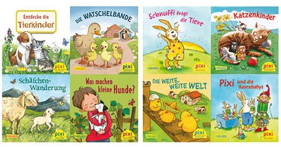Pixis liebste Tierkinder (Ostergeschichten) 8er-Set 4