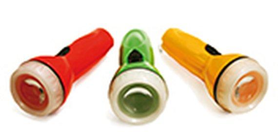 Mini LED-Taschenlampen (24 Stück)