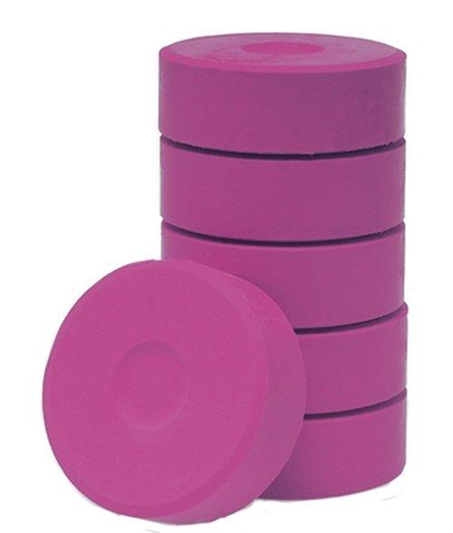 Wasserfarbe-Pucks pink 55mm. 6 Stück