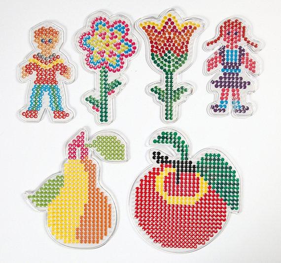 Steckvorlagen Kinder + Blumen