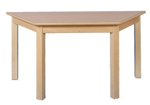 Tisch Trapez 120x60cm. Buche hell