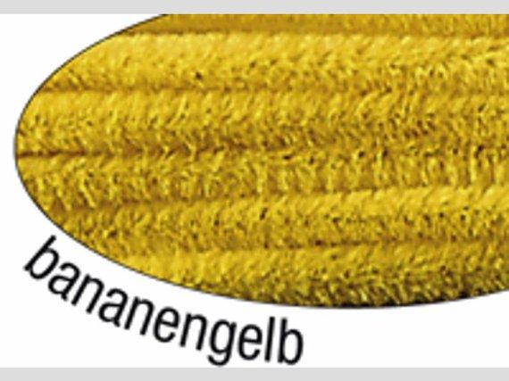 Chenilledraad geel