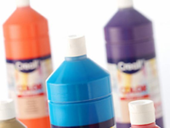Creacolor 16 kleuren a 1000 ml assortie.