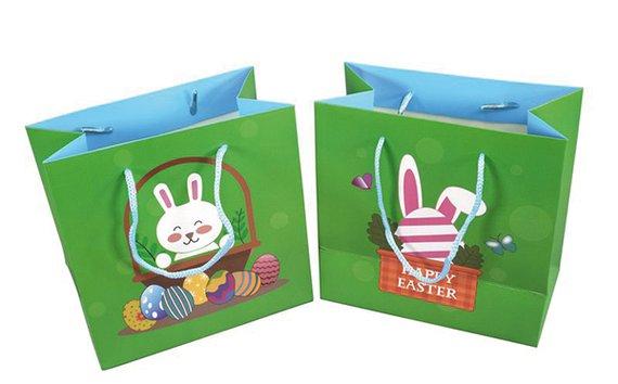Ostertragetaschen, 6 Stück, Hase