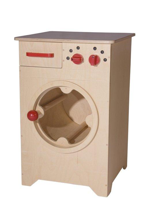 Wasmachine met draaiende trommel