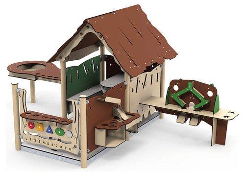 Spielhaus Tobi mit viel Action