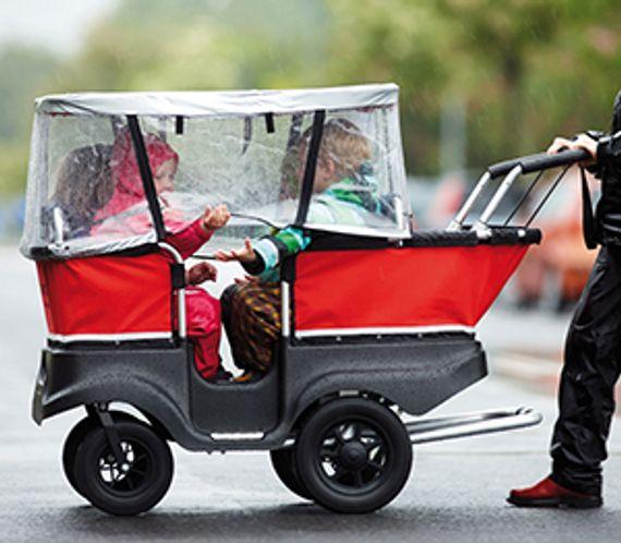 Turtlebus Regenschutz für 6-Sitzer.