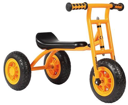 Loopfiets met 2 achterwielen