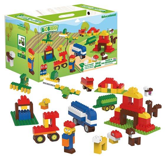 BIOBUDDI Lern- und Spielset Bauernhof