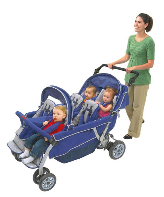 Bye-Bye 6-Sitzer Kinderwagen