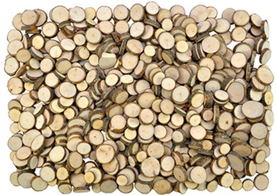 Boomschijfjes hout